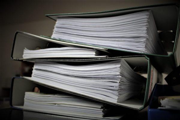 Опись документов для налоговой: образец