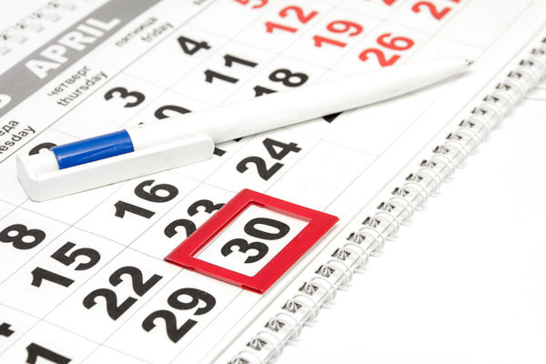 6-НДФЛ: срок перечисления налога