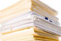 Список документов постановки машины на учет