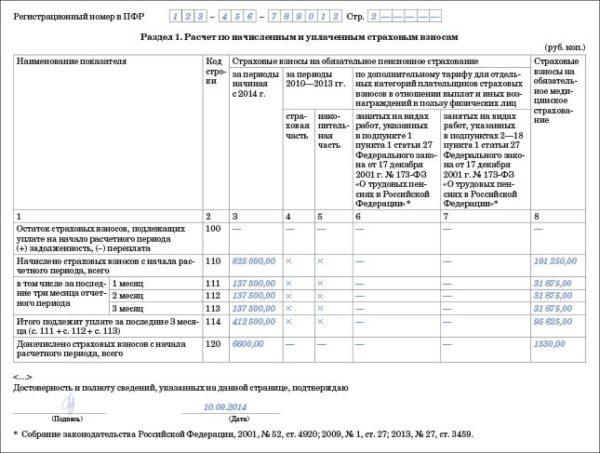 Не следует забывать, что если организация предоставляет в инспекцию 6-НДФЛ, она должна сдавать и РСВ