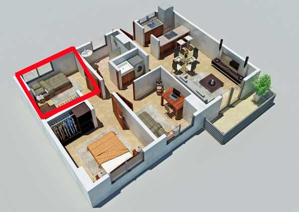 Проще говоря, если вы купили не целую квартиру, а только комнату, на нее вы также имеете право получить налоговый имущественный вычет
