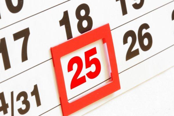 После наступления отчетного срока, до наступления 25 числа следующего месяца необходимо передать на рассмотрение в государственную налоговую инспекцию