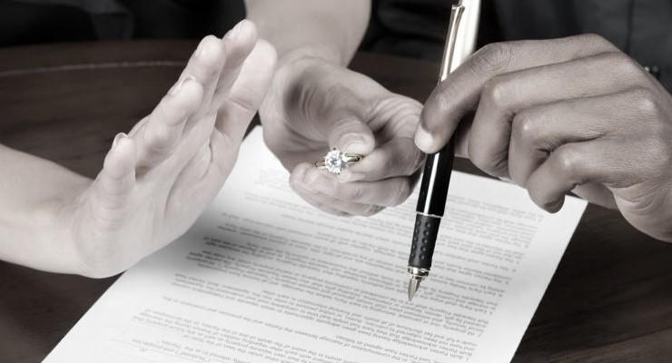 Иски о разводе попадают в мировой или районный суд