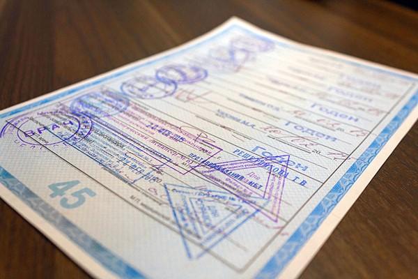 Для замены карточки водителя нужно принести медицинскую справку, которая действительна 12 месяцев