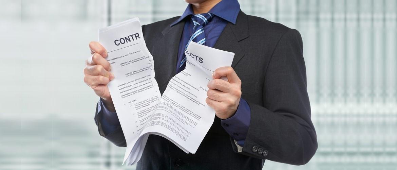 Выписка из росреестра послужит основанием для расторжения всех контрактов