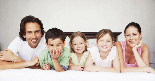 По статистике 77% от общего числа многодетных составляют семьи, воспитывающие 3 детей