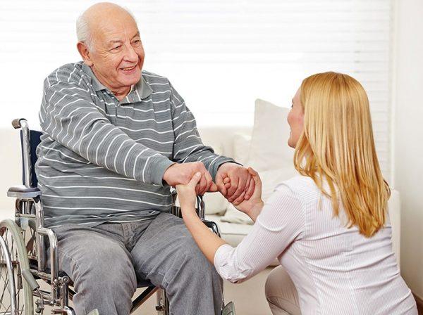 Уход за лицами старше 80 лет
