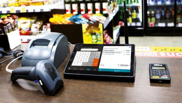 Онлайн-касса - аппарат с фискальным накопителем, подключённый к Интернет и передающий данные налоговикам и ОФД