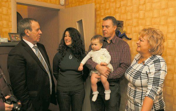 В Ленинградской области разработана своя система социальной поддержки семей с детьми