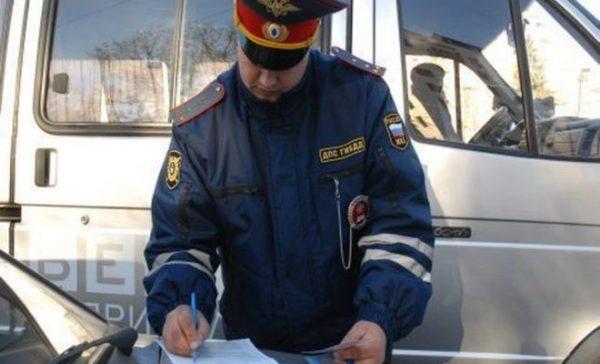 Перед выпиской протокола оценивают поведение и внешний вид водителя