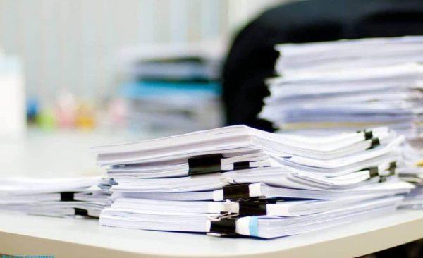 Сведения для регистрации подаются в документальном виде