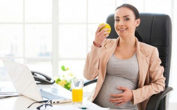 Беременные женщины имеют право на неполный график работ