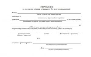 Документ позволит лично посетить детей (или конкретного ребенка)